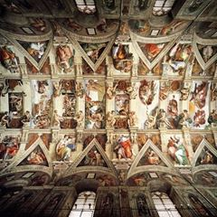 Picture for Michelangelo : Sistine Şapeli Tavan Freskleri