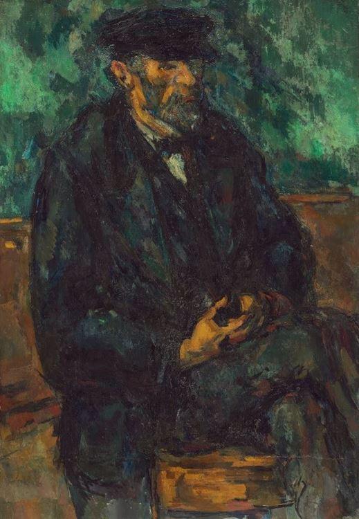 Bahçıvan Vallier'nin Portresi, 1906 picture