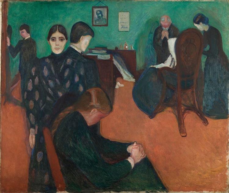 Hasta Odasında Ölüm, 1893 dolayları picture