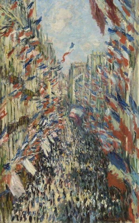 Paris'teki Rue Montorgueil. 30 Haziran 1878 Kutlaması, 1878 picture