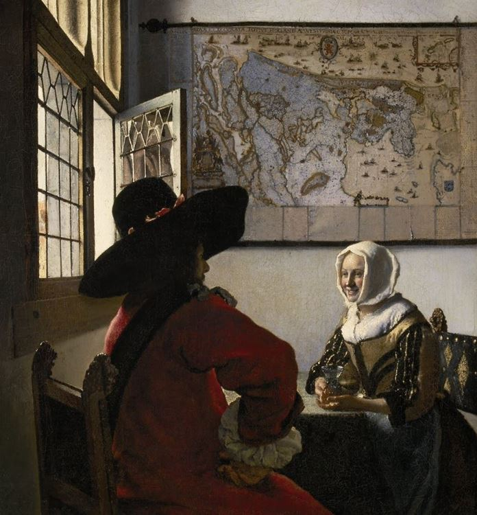 Subay ve Gülümseyen Kız, 1657 dolayları picture