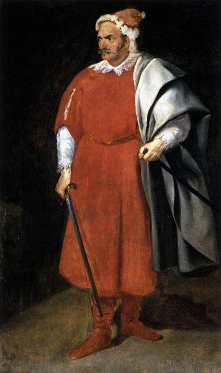 Soytarı Don Cristóbal de Castañeda y Pernia (Barbarroja), 1633 dolayları picture