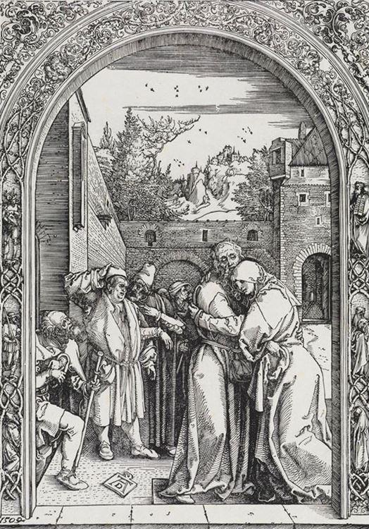 Yohakim ve Anna'nın Altın Kapı'da Buluşması picture