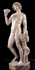 Baküs, 1496-1497, Mermer,, 203 cm, Museo Nazionale del Bargello, Florence, İtalya.
