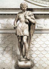 Aziz Proculus, 1494-1495 dolayları, Mermer, 58.5 cm, Basilica of San Domenico, Bologna, İtalya.