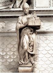Aziz Petronius, 1494-1495 dolayları, Mermer, 64 cm, Basilica of San Domenico, Bologna, İtalya.