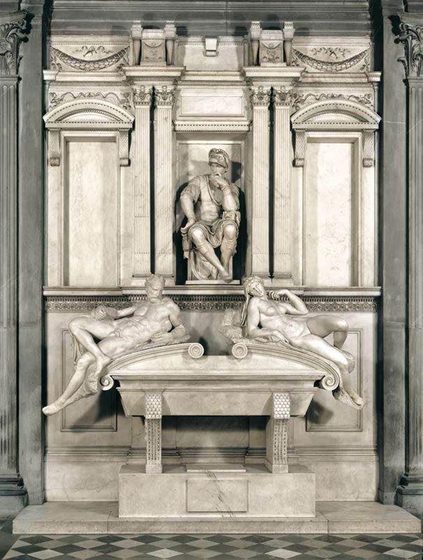 Lorenzo de' Medici'nin Mezarı, 1526-1531 resmi
