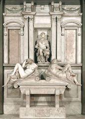 Giuliano de'Medici'nin Mezarı, 1526-1531, Mermer, Sagrestia Nuova (Yeni Mezarlık), San Lorenzo, Florence, İtalya.