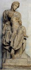 Çocuklu Madonna (Medicimadonna), 1521-1534, Mermer, 226 cm, Sagrestia Nuova (Yeni Mezarlık), San Lorenzo, Florence, İtalya.