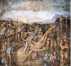 Petrus'un Çarmıha Gerilişi, 1545-1550 dolayları