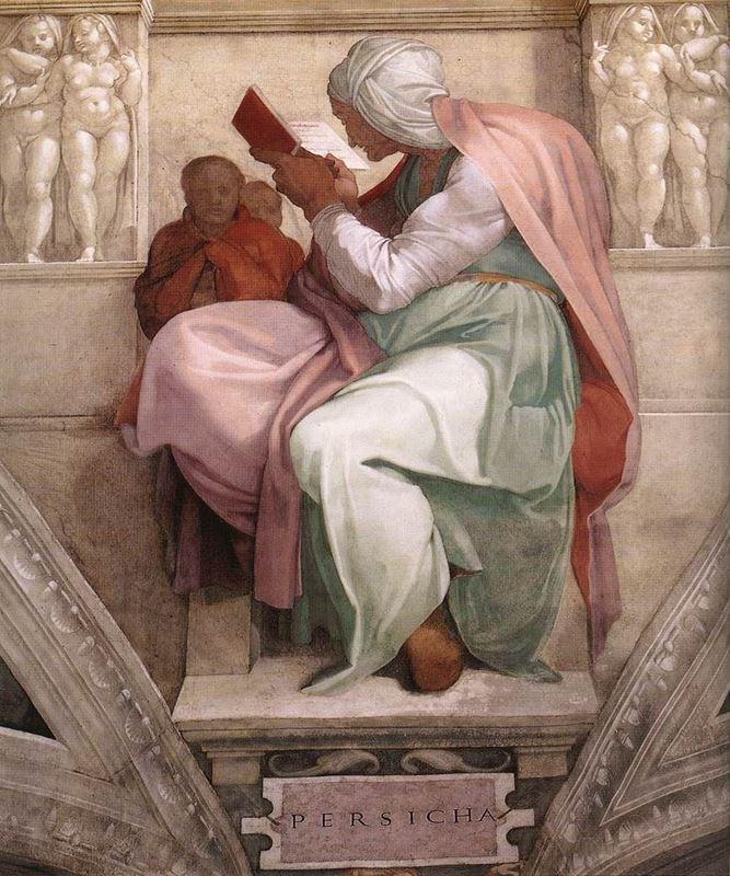 Persli Kâhin Kadın resmi