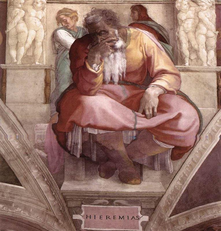 Yeremya Peygamber resmi