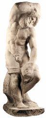 Sakallı Köle, 1520-1530, Mermer, 263 cm, Gallerie dell'Accademia, Venice, İtalya.