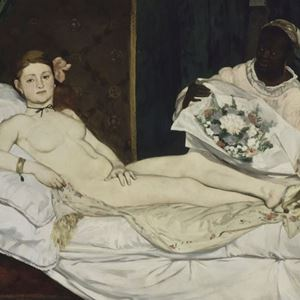 Picture of Olympia - Édouard Manet