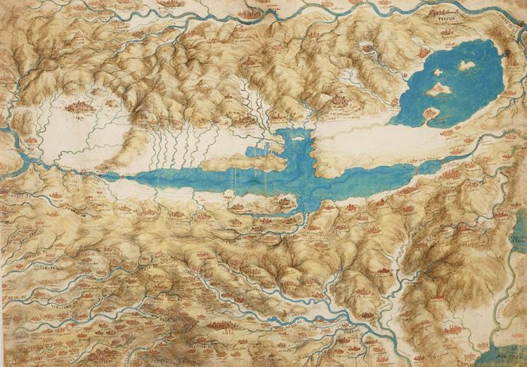 Kuşbakışı Val Di Chiana, 1503-1504 dolayları picture