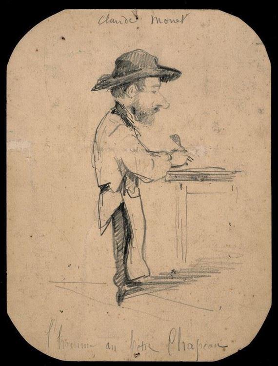 Şapkalı Adam, 1855-1856 picture