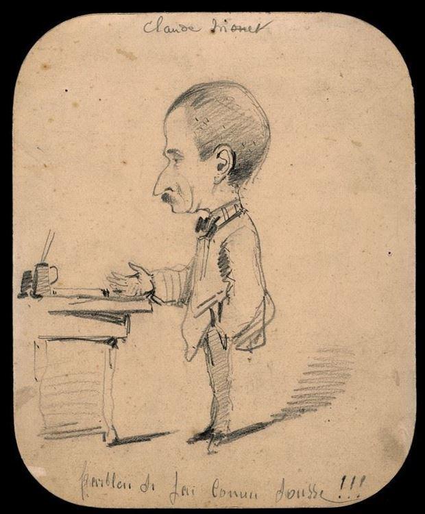 Masanın Yanında Duran Adam, 1855-1856 picture