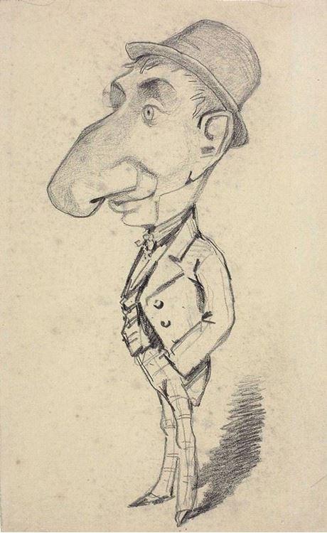 Büyük Burunlu Adam, 1855-1856 picture
