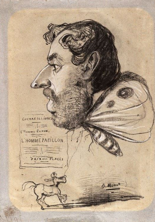 Jules Didier (Butterfly Man), 1858 dolayları picture