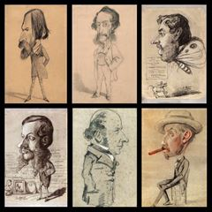 Caricatures - Claude Monet picture