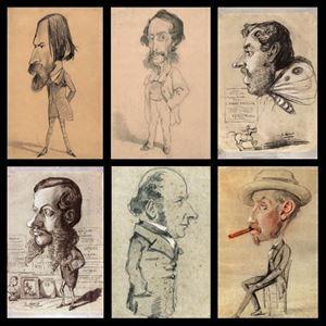 Picture of Claude Monet: Karikatürler