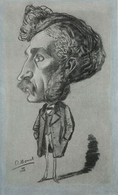 Victor Coësme, 1858 picture