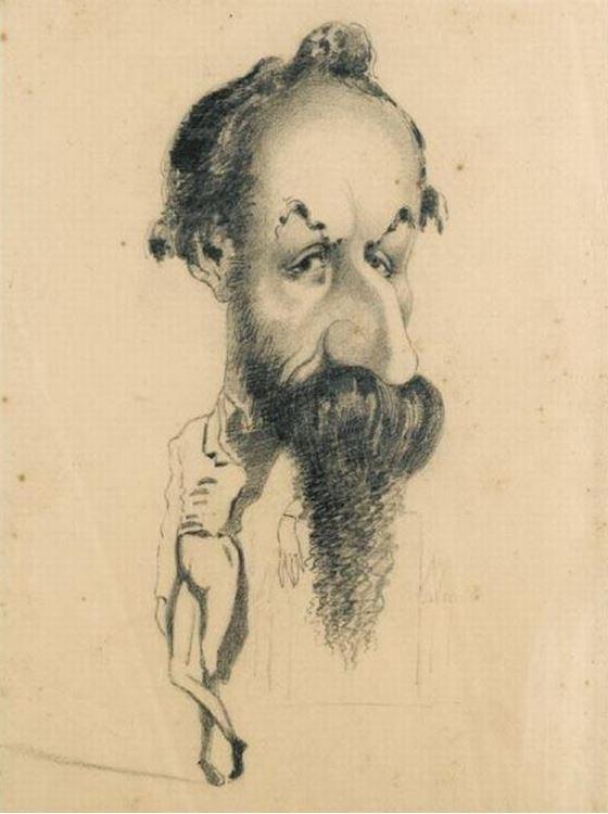 Philibert Audebrand, 1858 picture