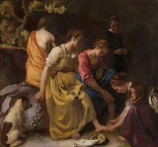 Show Diana and Her Companions, c. 1653-1654 details