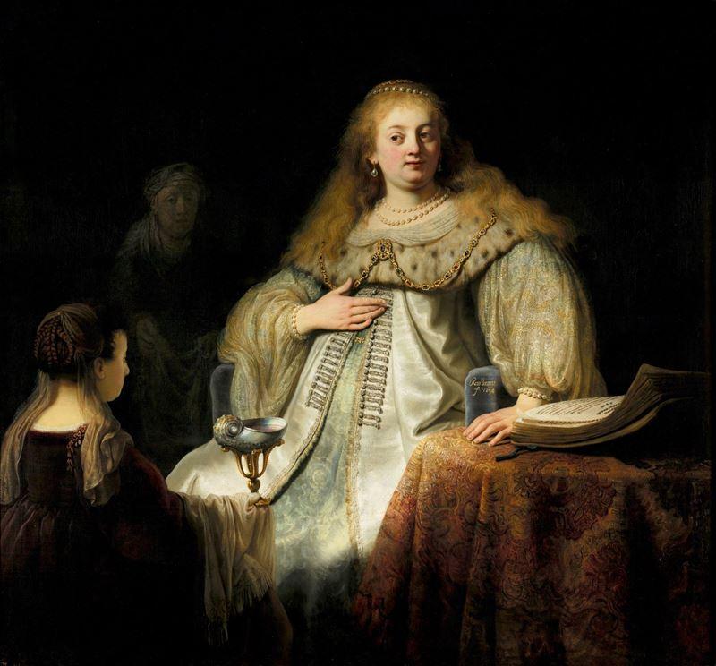 Artemisia, 1634 resmi