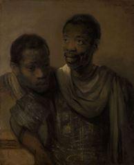 İki Afrikalı, 1661, Tuval üzerine yağlıboya, 77.8 x 64.4 cm, Mauritshuis, The Hague, Hollanda.