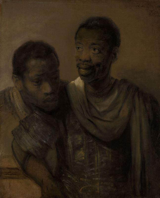 İki Afrikalı, 1661 resmi