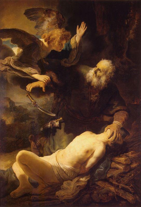 İshak'ın Kurban Edilişi, 1635 resmi