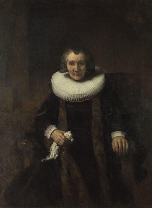 Picture for Portrait of Margaretha de Geer, c. 1661