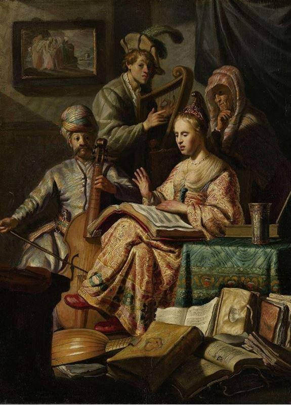 Müzikal Alegori, 1626 resmi