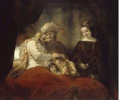 Yusuf'un Oğullarını Kutsayan Yakup, 1656, Tuval üzerine yağlıboya, 173 x 209 cm, Museum Hessen Kassel, Kassel, Almanya.