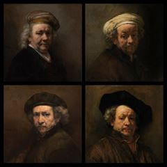 Self-Portraits - Rembrandt van Rijn picture