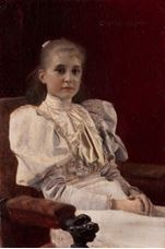 Show Seated Young Girl, 1894 details