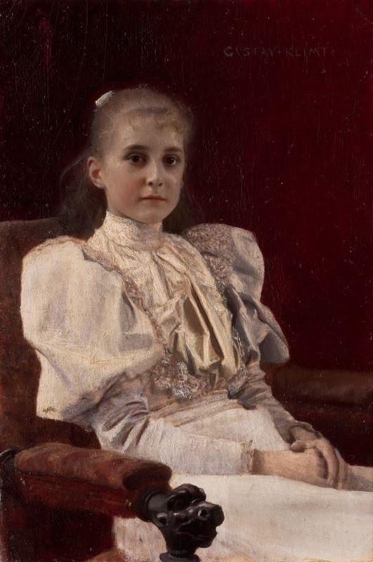 Oturan Genç Kız, 1894 resmi