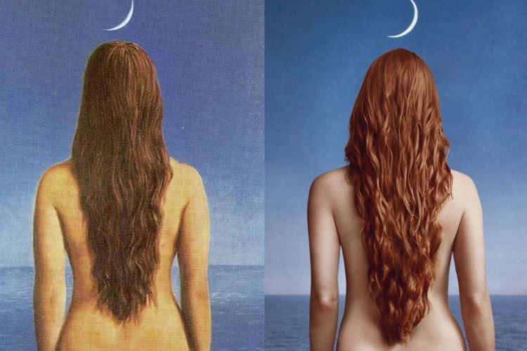 Gece Kıyafeti, 1954 / René Magritte picture