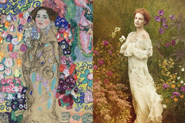 Maria Munk Portresi, 1917-1918 / Gustav Klimt picture