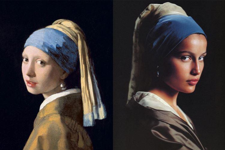 İnci Küpeli Kız, 1665 / Johannes Vermeer picture