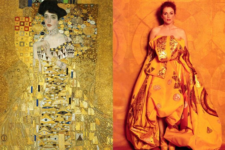 Adele Bloch-Bauer'in Portresi I, 1907 / Gustav Klimt picture