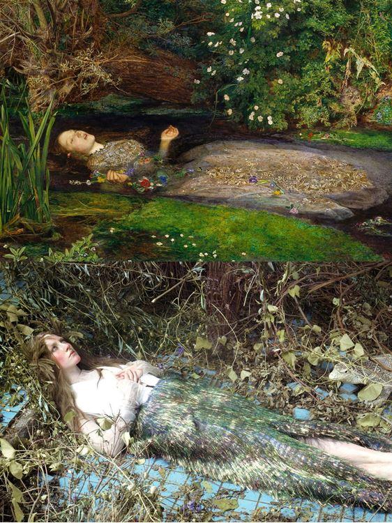 Ofelya/ Ophelia, 1829-1896 / John Everett Millais picture
