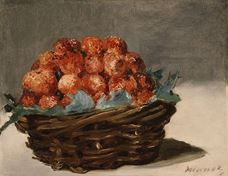 Show Strawberries, c. 1882 details