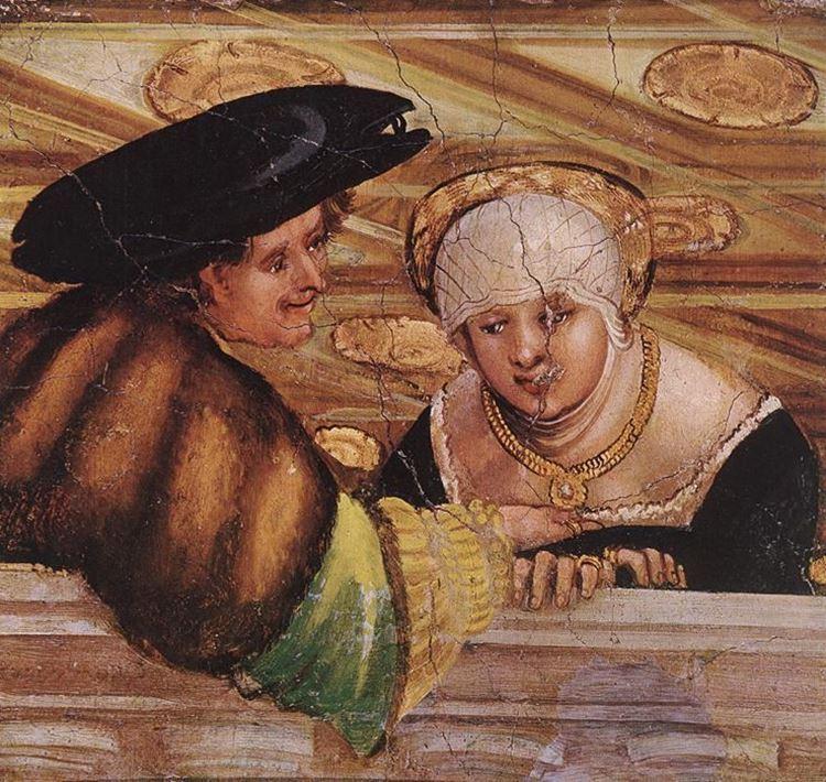 Albrecht Altdorfer, Aşıklar, 1530 dolayları picture