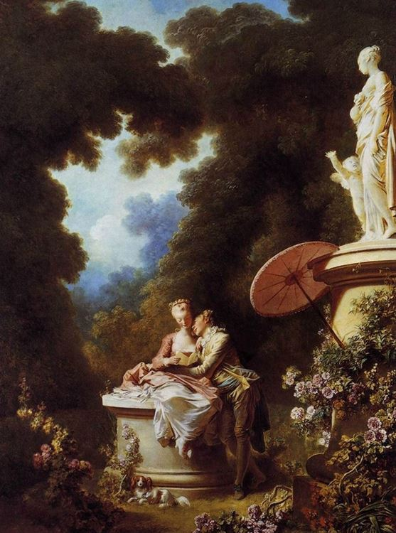 Jean-Honore Fragonard, Aşk İtirafları, 1771 picture