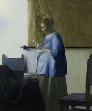 Mektup Okuyan Kadın, 1663 dolayları