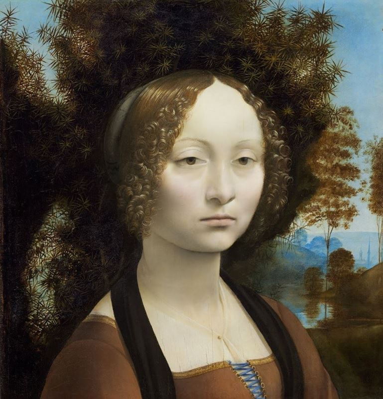 Picture for Ginevra de' Benci, c. 1474-1478