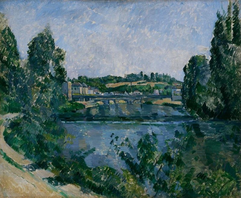 Picture for The Bridge and Dam at Pontoise, 1881