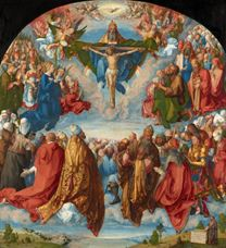 Show The Adoration of the Trinity, 1511 details